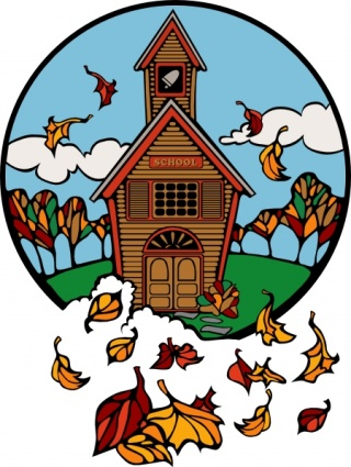 320x425 Fall Clipart School