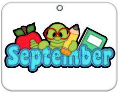 236x184 Calendar Clipart September