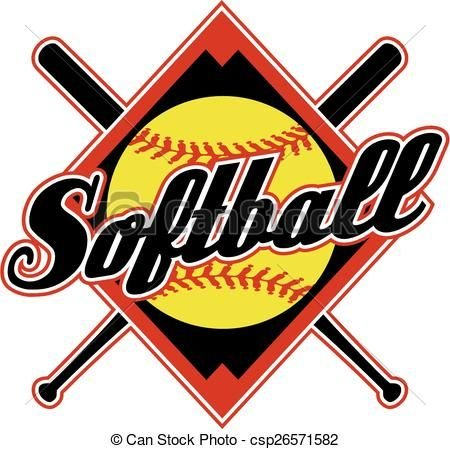 For Softball Clipart