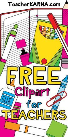 236x472 Free Clipart For Teachers! Classroom Clipart, Teacher And Cl