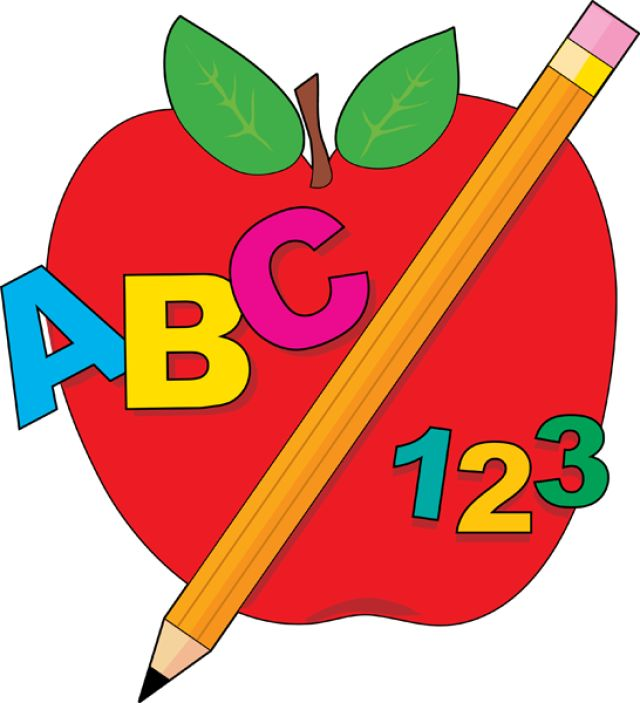 640x703 Top 91 School For Clip Art