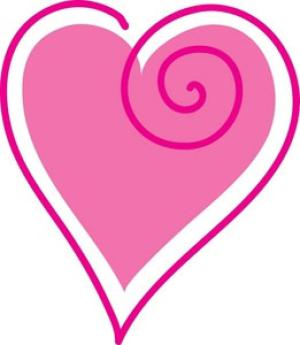300x345 Free Valentines Day Clip Art