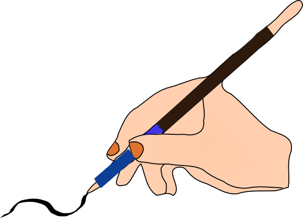 600x432 Pen Ink Clip Art