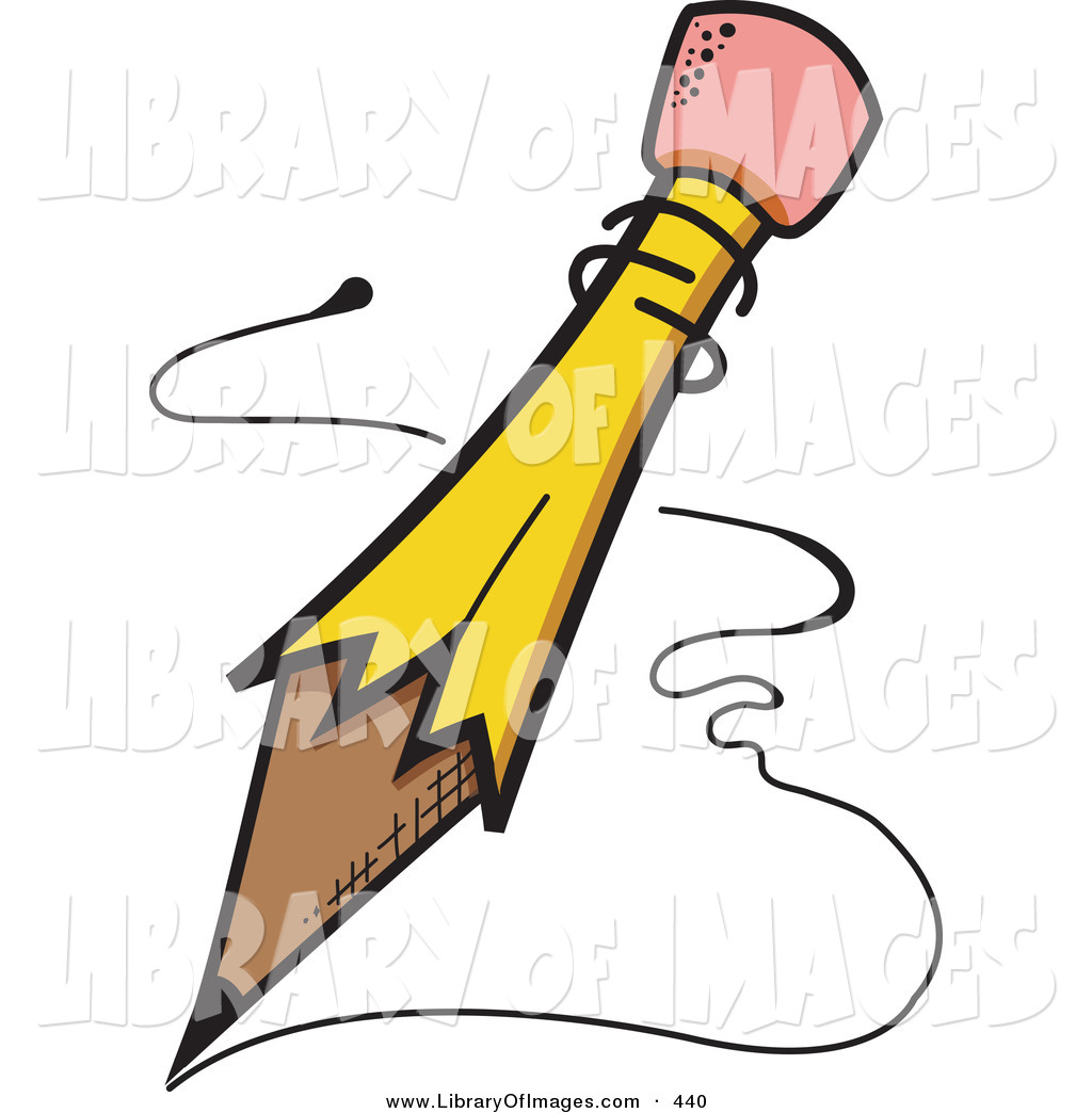 1024x1044 Clip Art Of A Yellow Pencil With A Pink Eraser Tip, Writing Notes