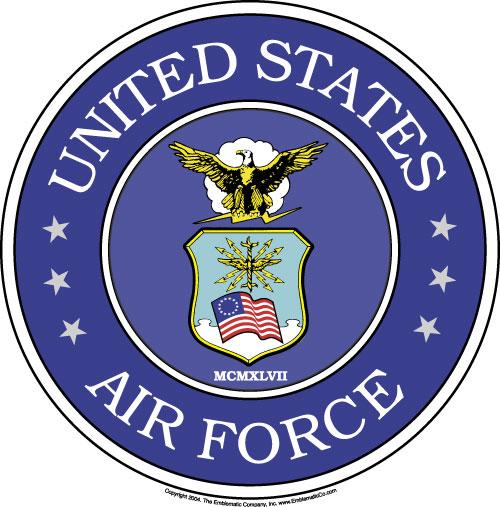 500x507 Air Force Clipart