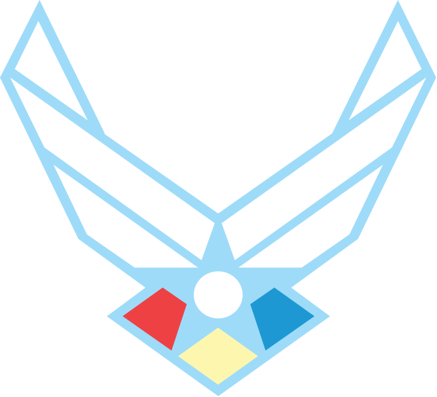 900x818 Clip Art Of Air Force Logo Clipart
