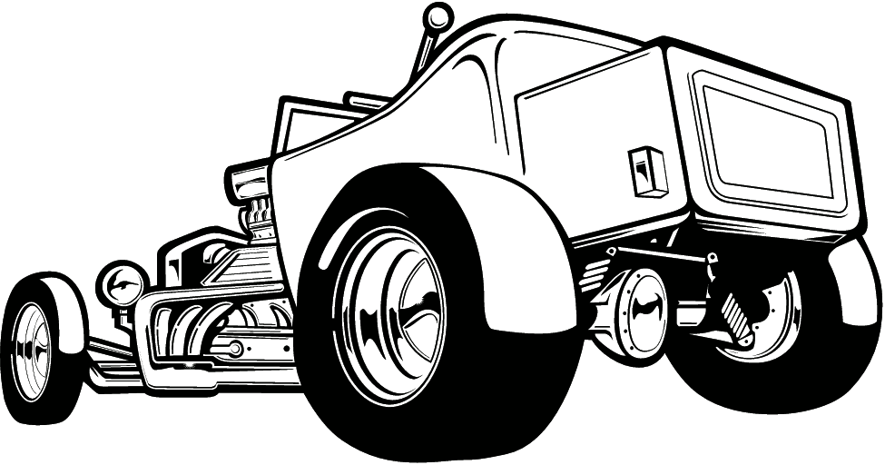 975x512 Hot Rod Clip Art Many Interesting Cliparts