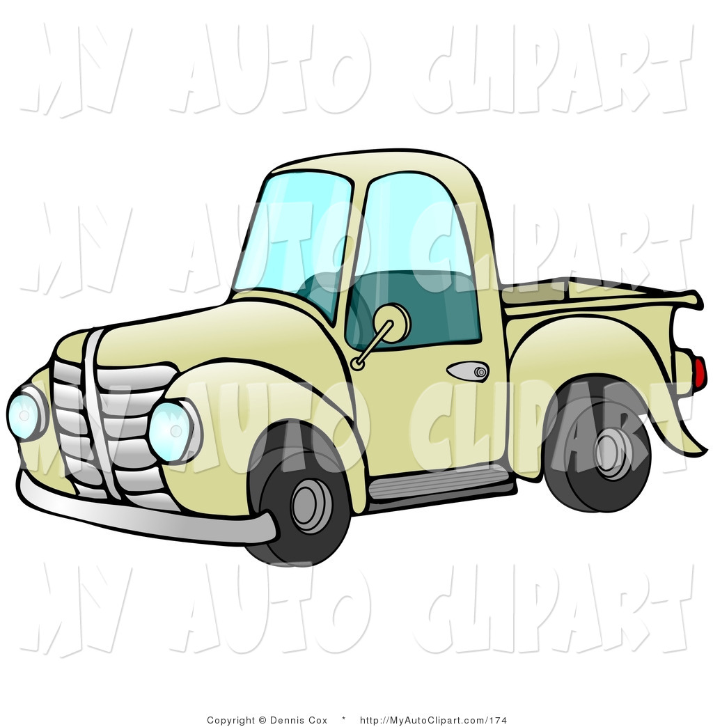 1024x1044 Royalty Free Pick Up Truck Stock Auto Designs