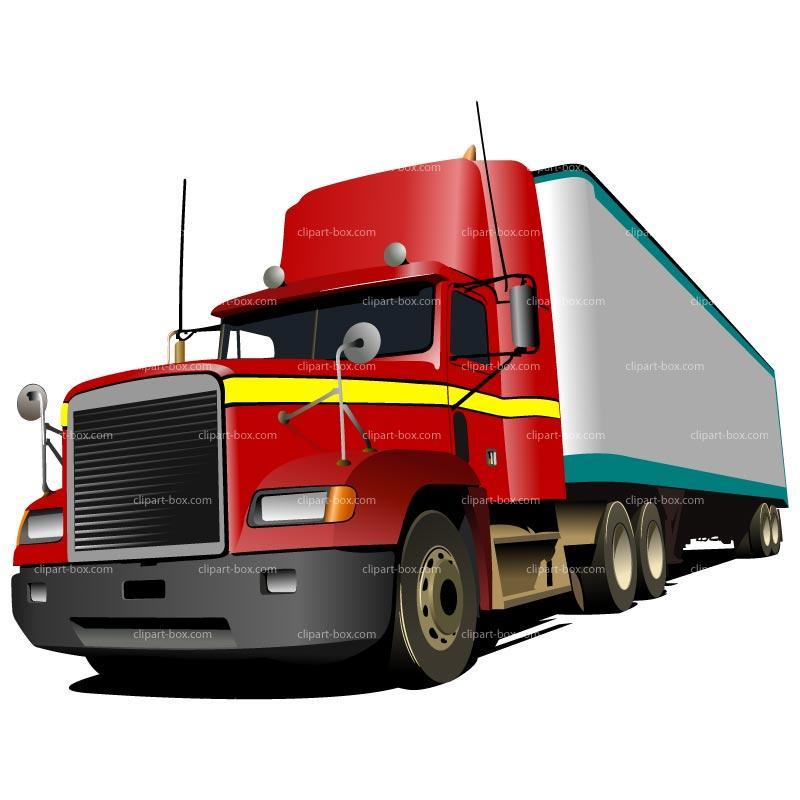 800x800 Trucking Company Clipart