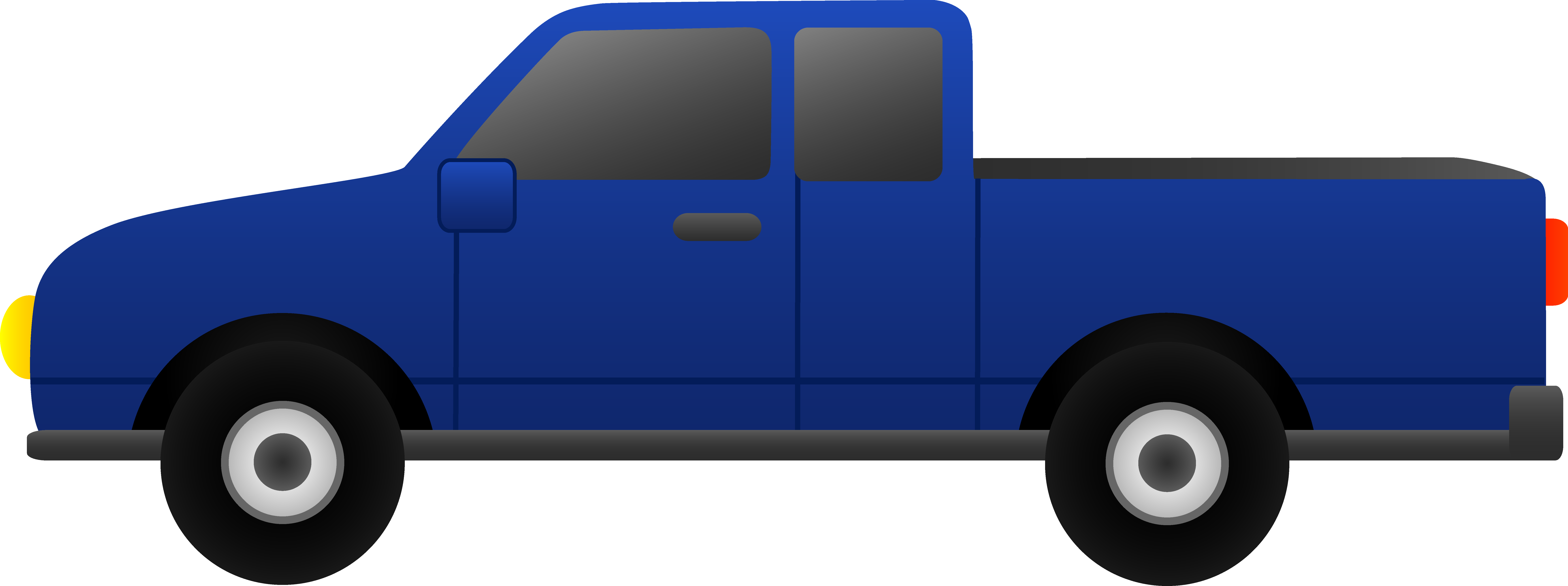 8576x3207 Vehicle Clipart Pickup Truck