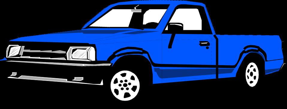 958x365 Pick Up Truck Clip Art Chadholtz