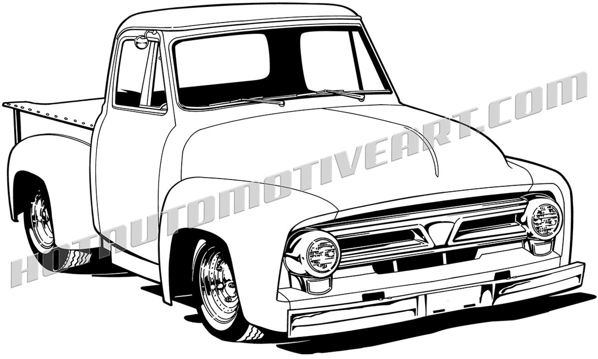 1200x720 Truck Clipart Ford Pickup Truck