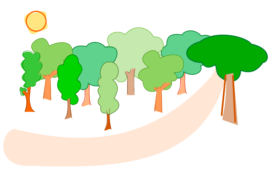900x637 Top 73 Forest Clip Art