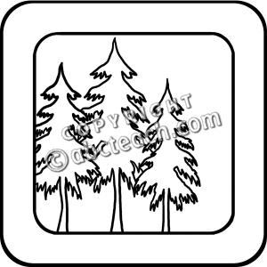 300x300 Bampw clipart forest