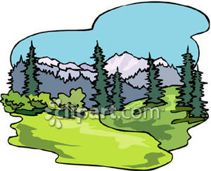 300x243 Forests clipart
