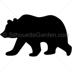 236x234 Black bear silhouette clip art. Download free versions of the