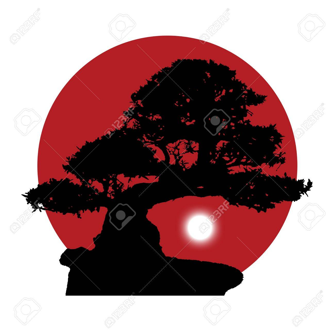 1300x1300 Images Bonsai Tree Silhouette Clip Art