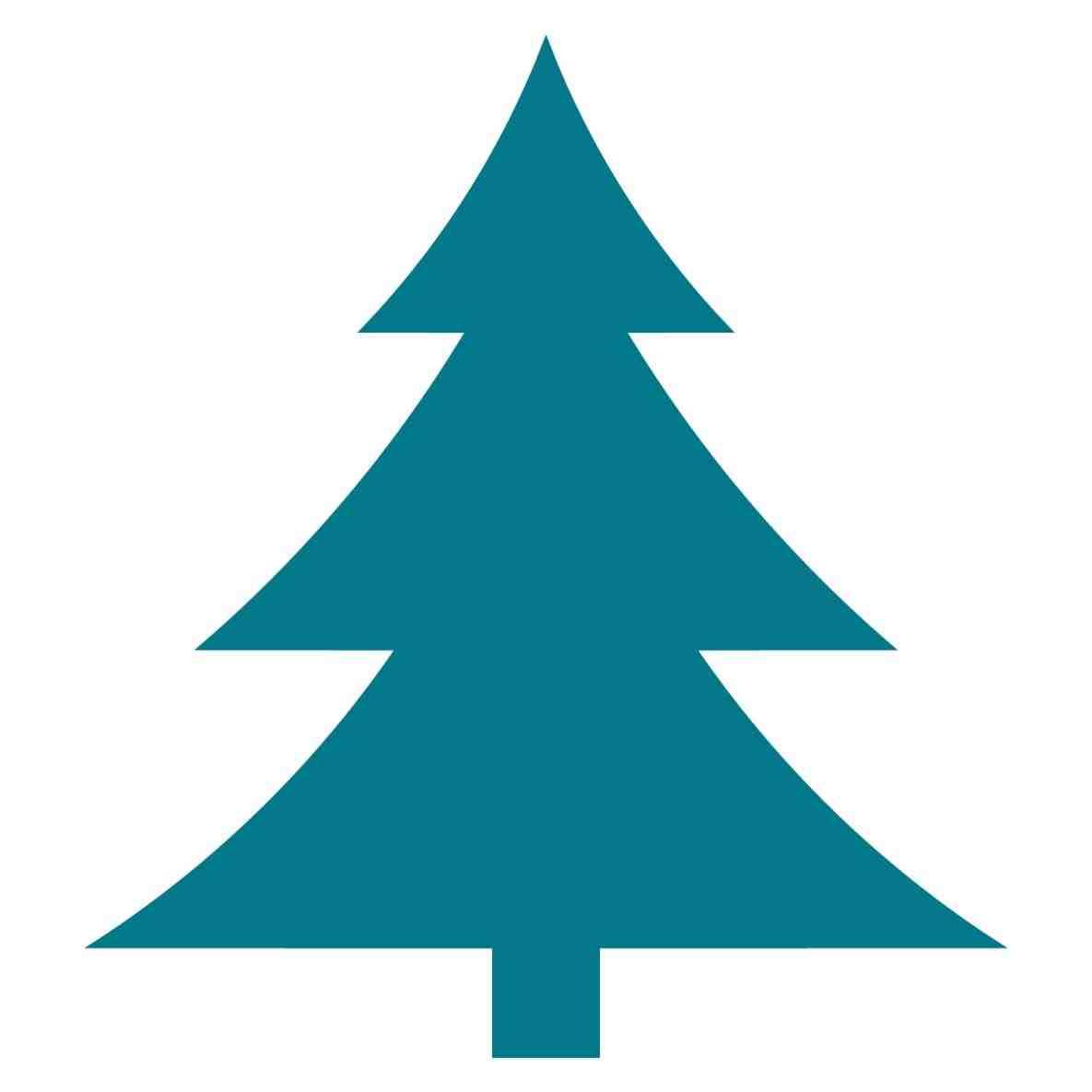 1185x1185 Simple Christmas Tree Silhouette Cheminee.website