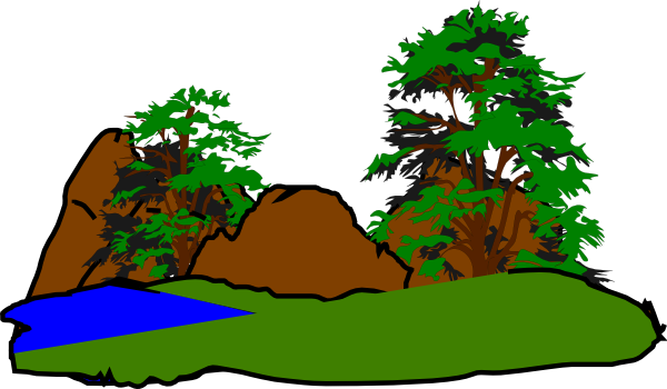 600x350 Forest Clipart Green Forest