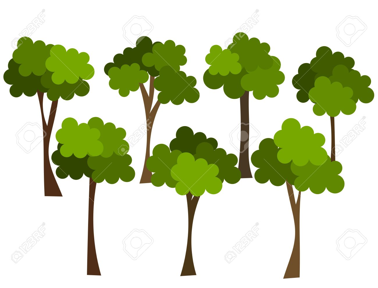 1300x991 Forest Clipart Group Tree