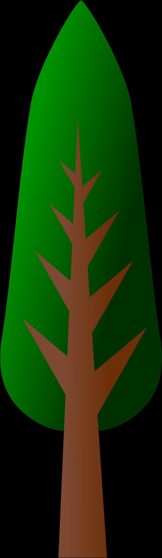 875x3000 Tall Tree Clip Art