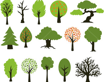 340x270 Wood Clipart Forest Tree