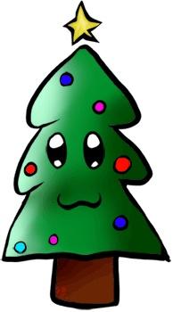 194x350 Best 25+ Cartoon christmas tree ideas Christmas