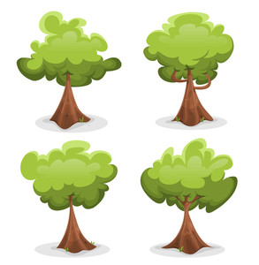 293x300 Oak Green Tree Royalty Free Stock Image