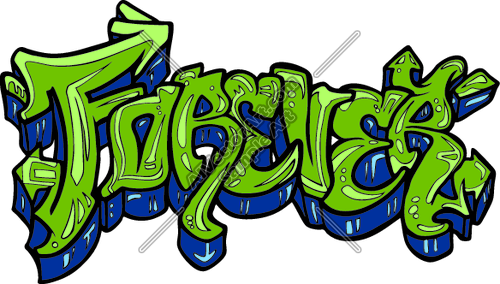 500x284 Forever Graffiti Tag Wording Clipart And Vectorart Graphics