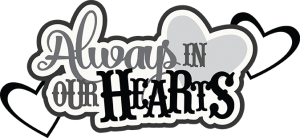 300x138 Forever In Our Heart Clip Art Cliparts