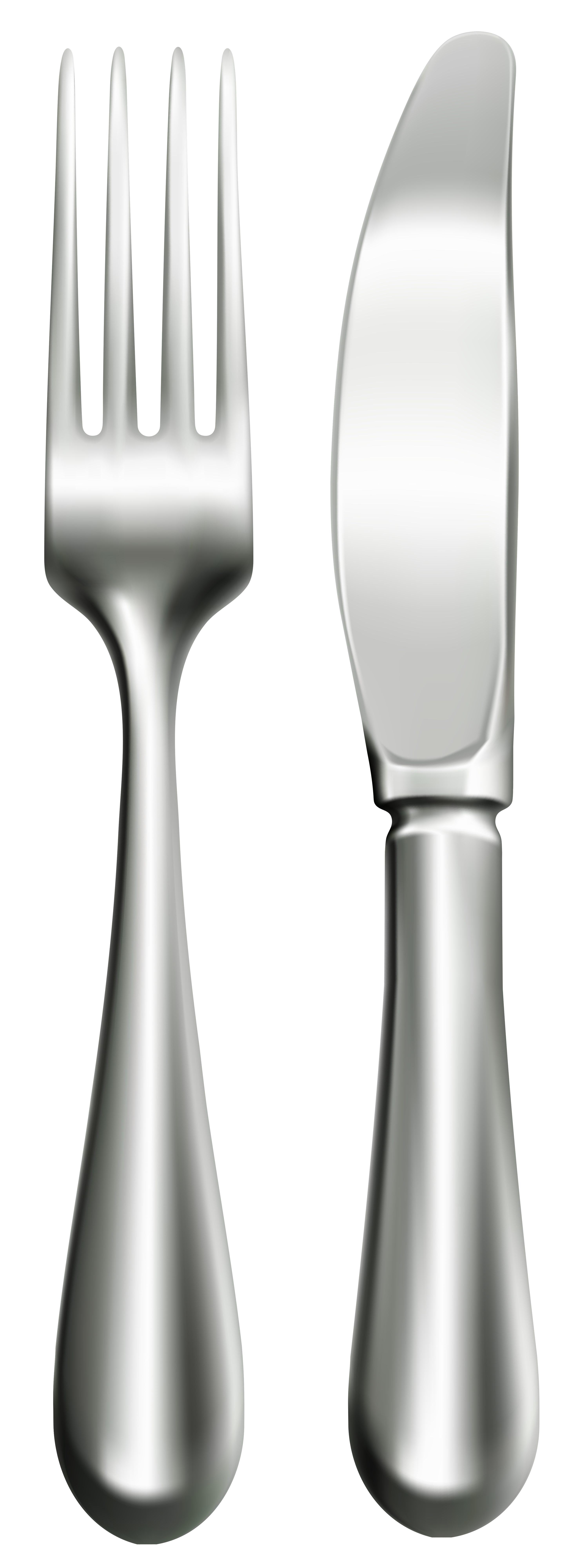 3000x8000 Fork And Knife Png Clip Art