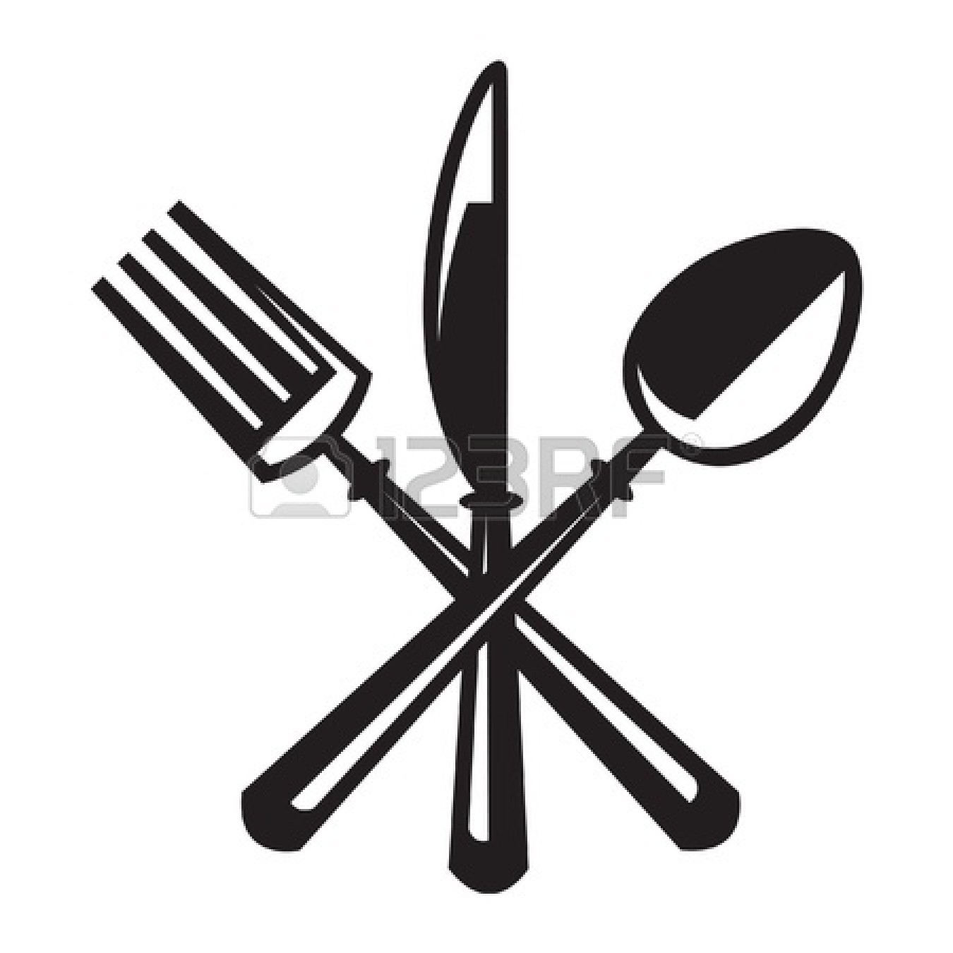 1350x1350 Spoon Clipart Spoon Fork