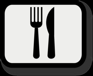 298x243 Fork Knife Clip Art