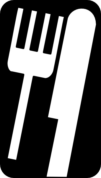 342x598 Fork Knife Clip Art Free Vector In Open Office Drawing Svg ( Svg