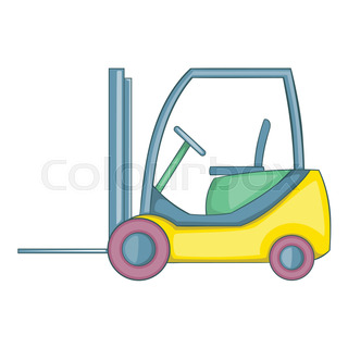 320x320 Forklift Driver Stock Vector Colourbox