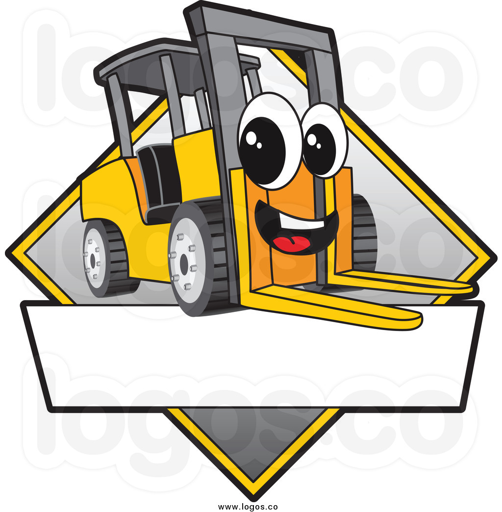 1024x1044 Free Clipart Forklift