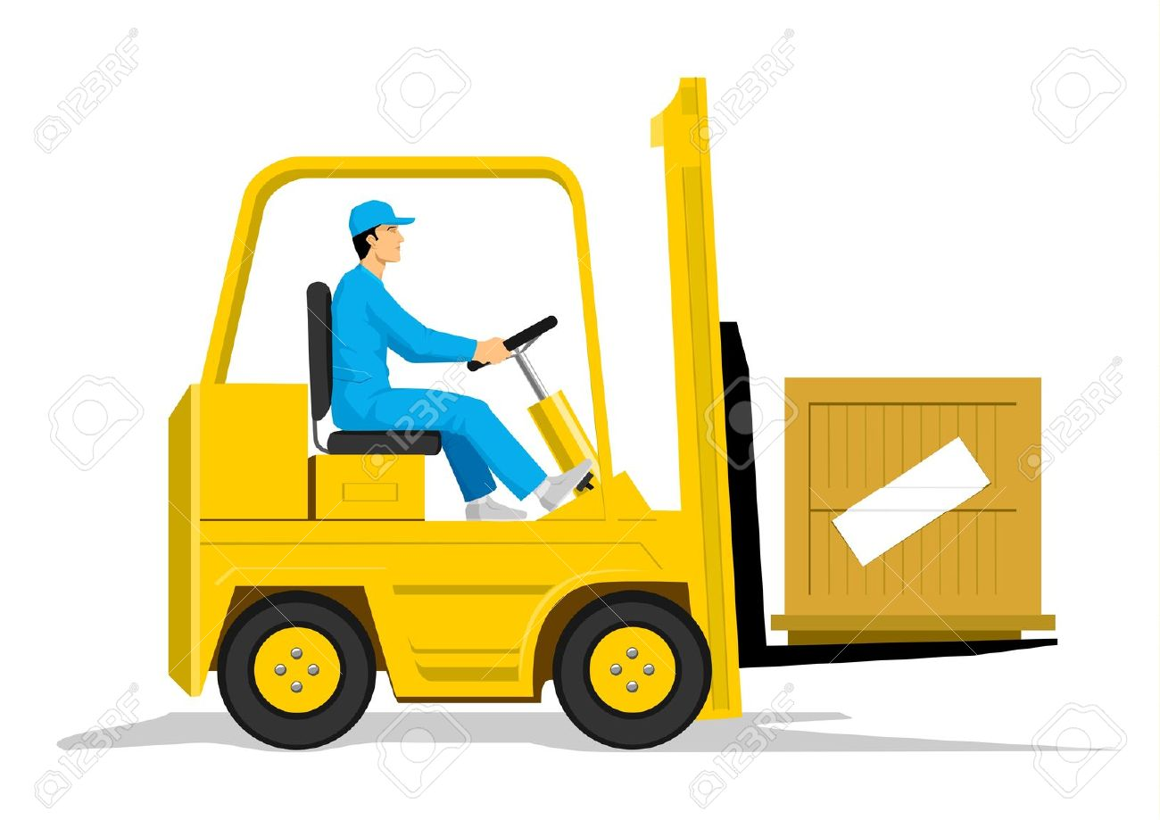 1300x919 Warehouse Clipart Forklift Driver
