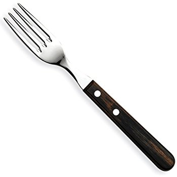 350x350 Tramontina Jumbo Polywood Steak Fork Light Black Cutlery Fork