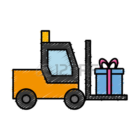 Forklift Clipart