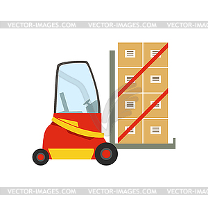 300x300 Forklift Warehouse Car Lifting Paper Box