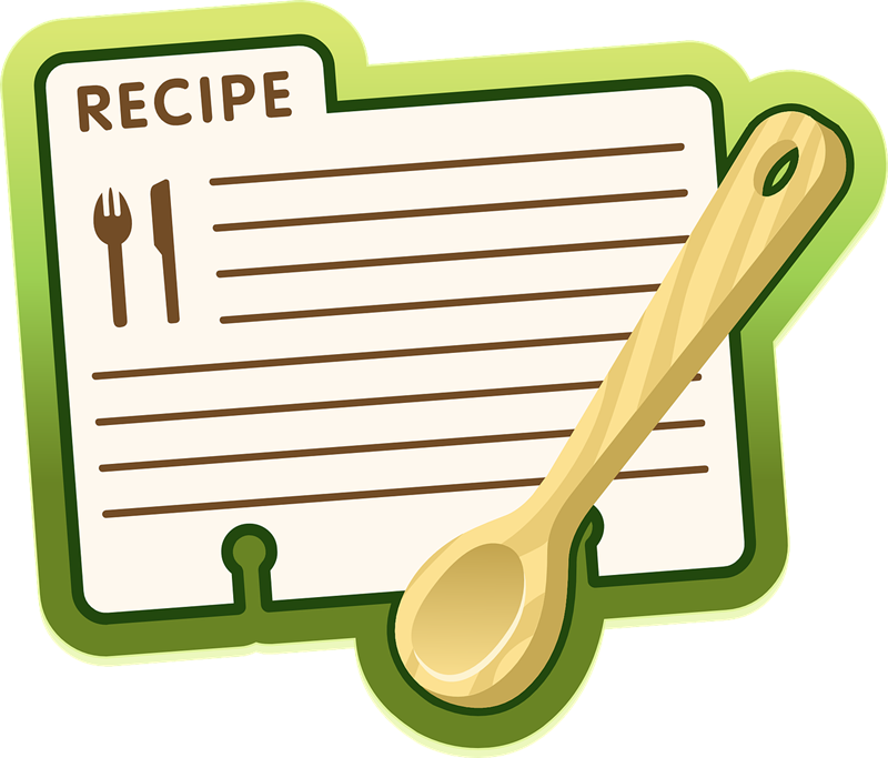 800x683 Recipe Ingredients Clip Art