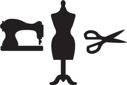 406x273 Black Dress Clipart Dress Form