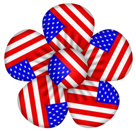 436x421 Usa Clipart 4th July