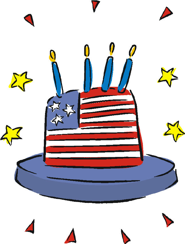 645x849 Funny Fourth Of July Clipart