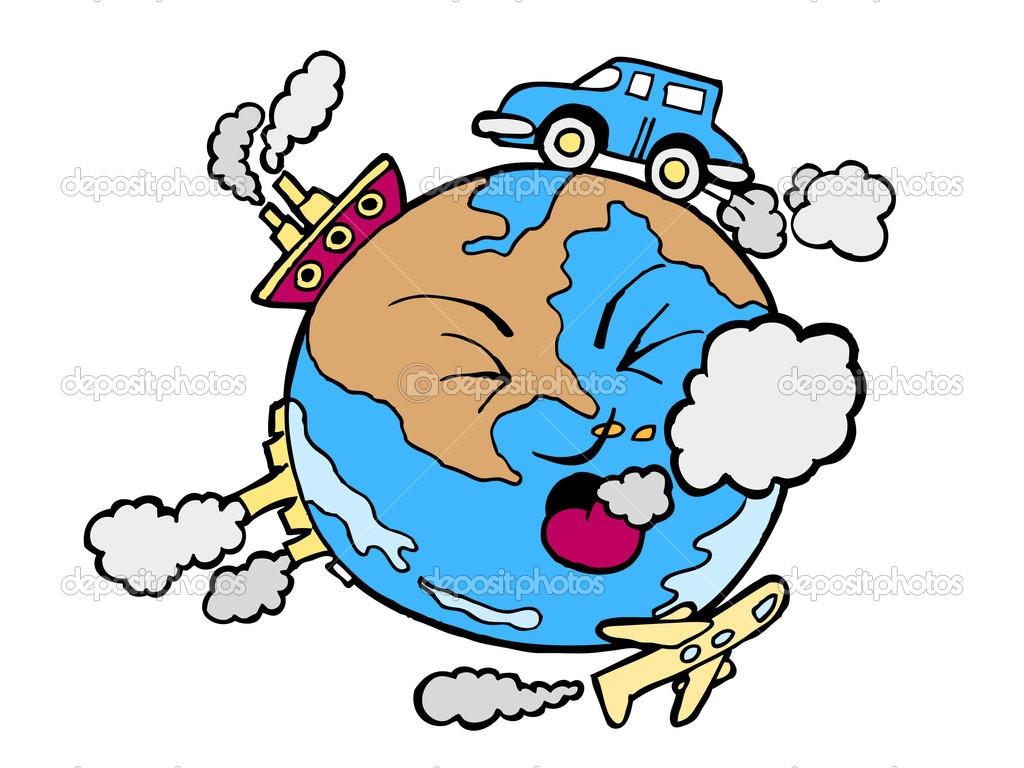 1024x768 Air Pollution Clipart