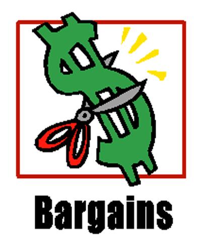 405x486 Bargains Clipart