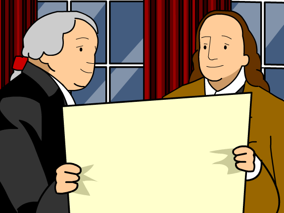 574x431 Declaration Of Independence Clipart Independence Kid