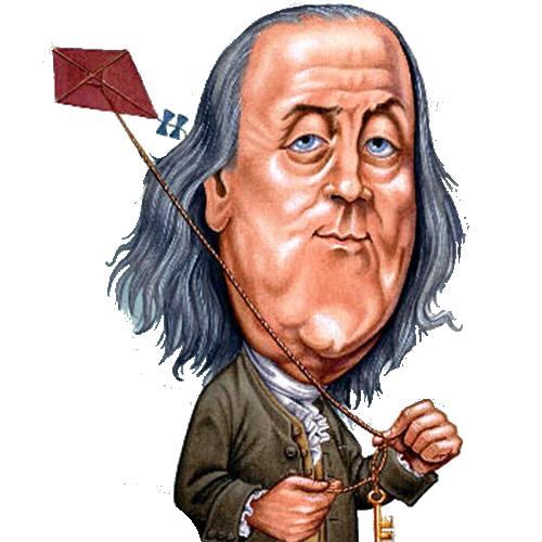 500x500 Free Benjamin Franklin Clip Art