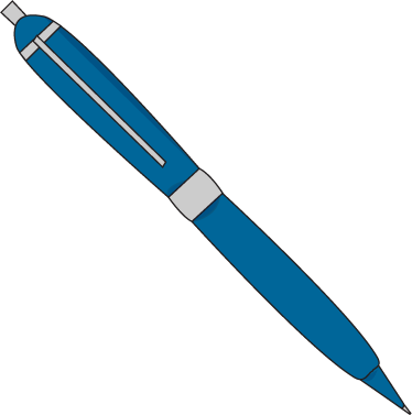 374x377 Pen Clipart