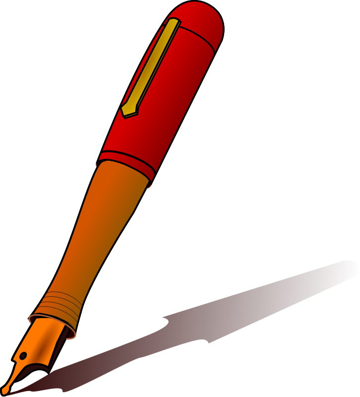726x800 fountain pen clip art for Clipart Panda